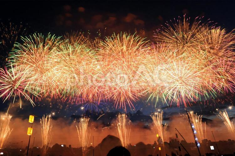 花火「大曲」4の写真