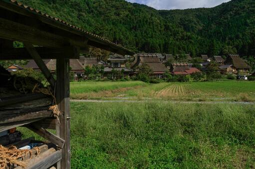 미야마 초가 마을