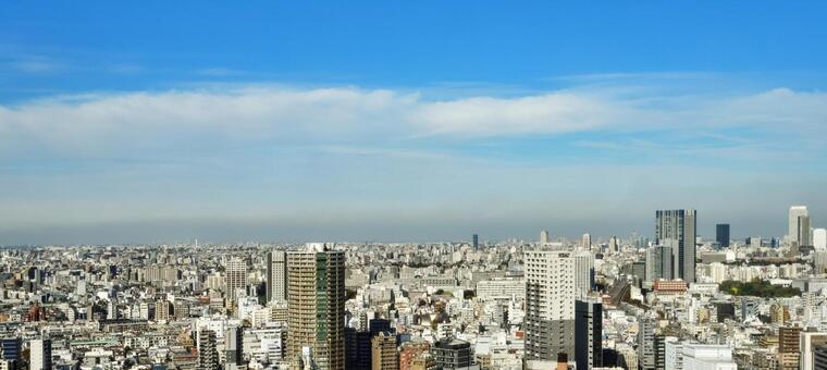 도쿄 도시 풍경