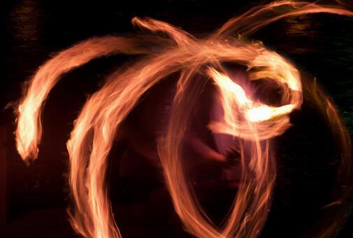 Fire dance 55
