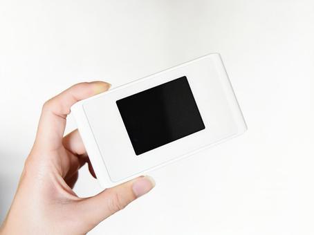 Pocket wifi radio wave hand