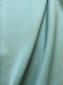 布面料綠色綠色絲綢緞面紋理