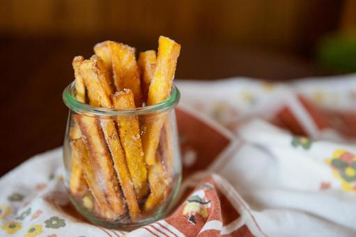 Stick potato (sweet potato)