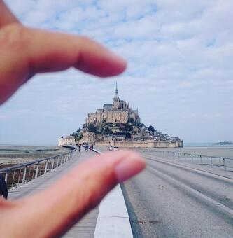 Catch Mont Saint Michel