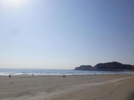 # 가마쿠라 # 유이가 하마 해안 # 材木座 해안