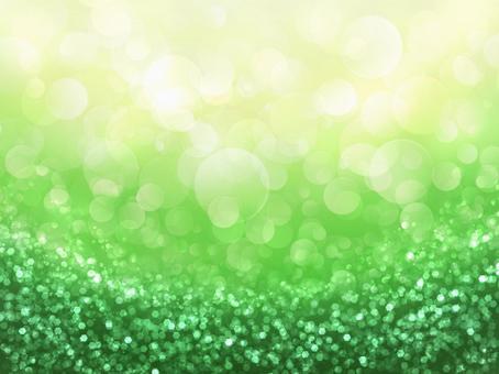 Sparkle of fresh green