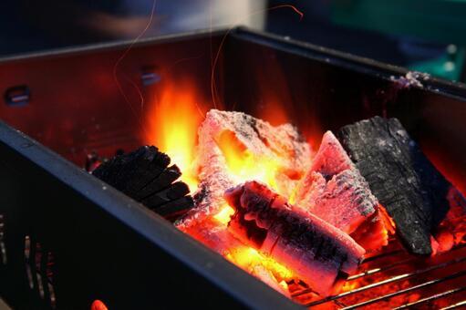BBQ stove charcoal