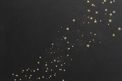Background texture night sky glitter star winter Christmas golden