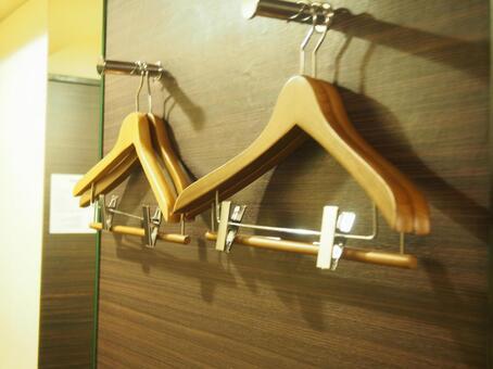 Hotel indoor hanger