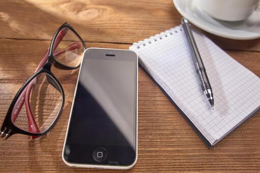 Up smartphone and glasses 1