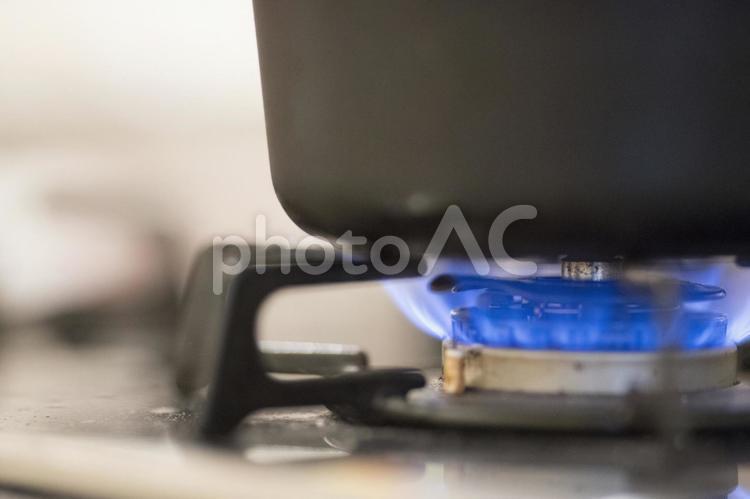 ガスコンロ の写真