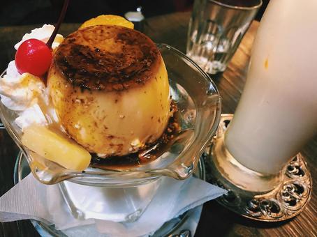 Coffee shop pudding