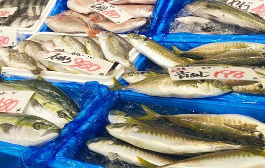 Fish market landscape