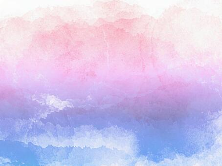 Watercolor gradient background material