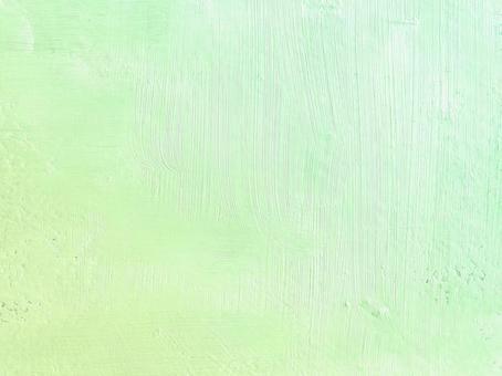 布面油畫 黃綠【黃綠春夏背景素材 清爽亮色 質感藝術 手寫】