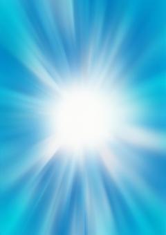 Radial Blue Background
