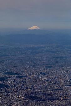 Fuji aerial view