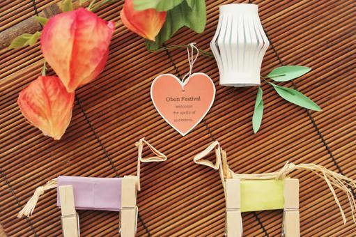 Obon decoration craft