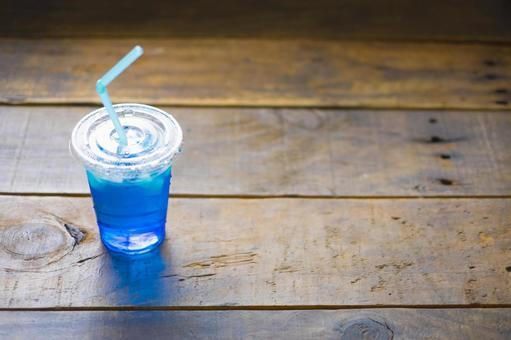 푸른 음료
