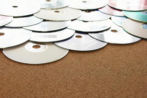 대량의 DVD