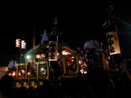 Fall Festival landscape (4) Danjiri