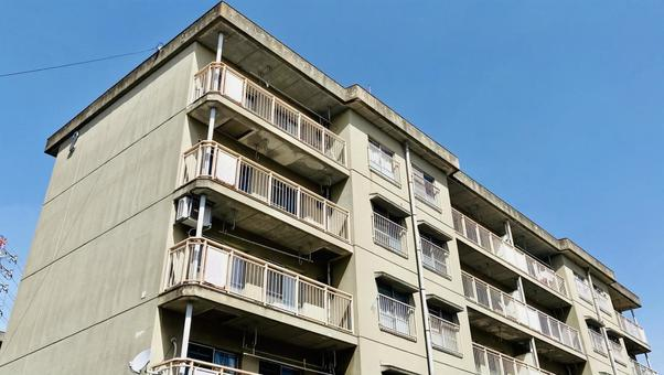 Apartment house real estate image