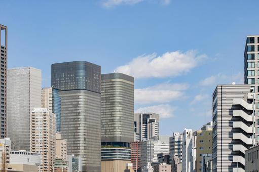 Buildings in Nakanoshima, Osaka Skyscraper
