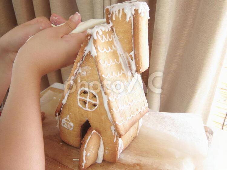 お菓子の家の写真