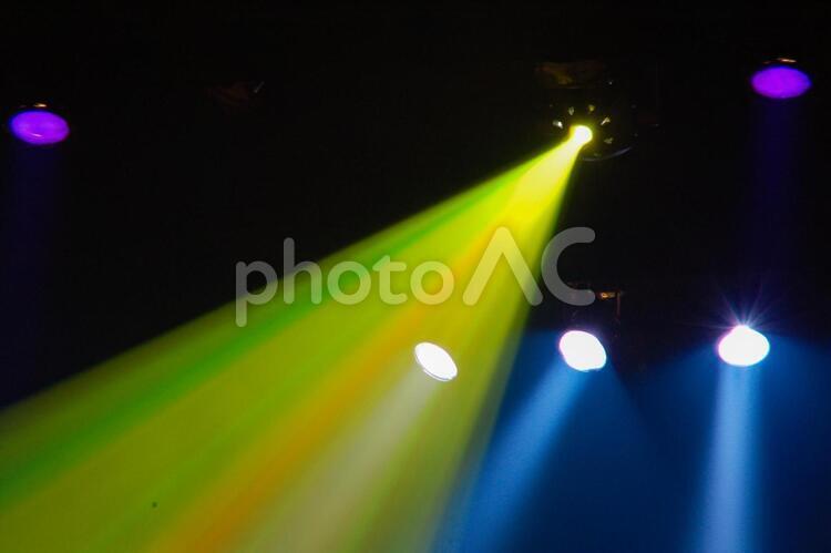 舞台照明の写真