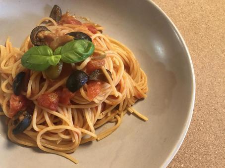 Puttanesca alla spaghetti