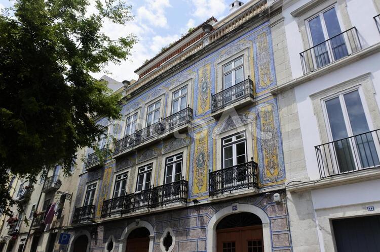 ポルトガルのリスボンの街並みの写真