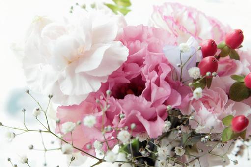 Pink color bouquet