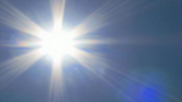 Sunlighting in Okinawa UV light in summer 3