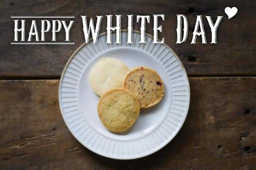 White day cookies