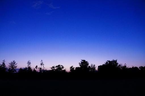새벽 전의 풍경