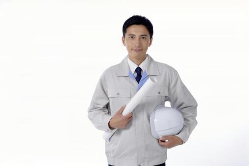 Working clothes Male half-length 28