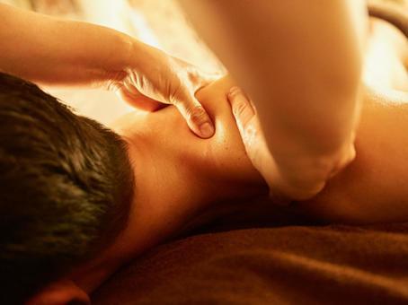 Men's beauty treatment salon image