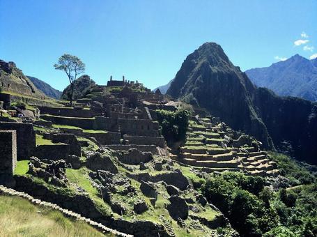 Machu Picchu remains