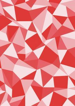 Polygon seamless red