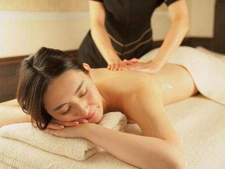 Esthetic relaxation aroma image