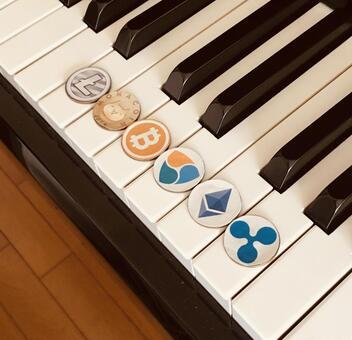 虛擬貨幣和鋼琴