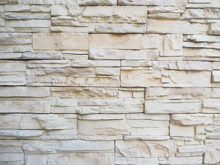 Luxury white wall ledge stone