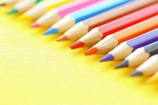 Colorful pencil study