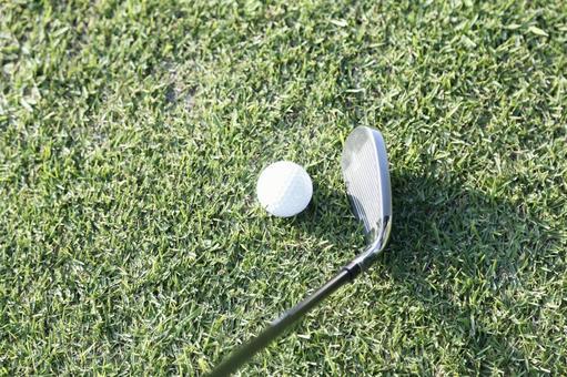 Grass Club and Golf Ball 25