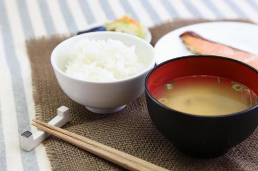 Simple Japanese set menu 5