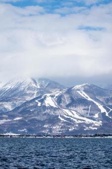 Winter wilderness landscape