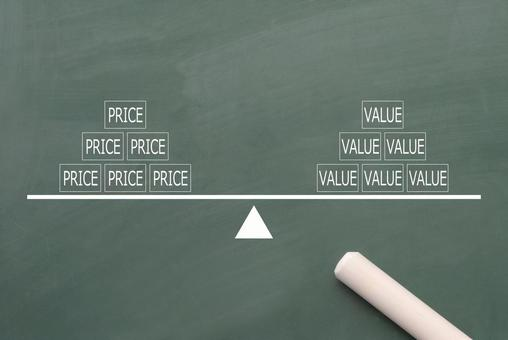 Balance between price and value