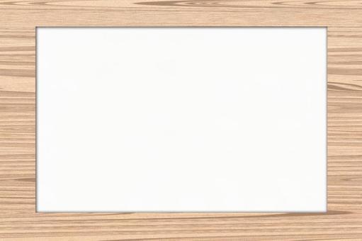 Frame-friendly Universal Background Wood Frame