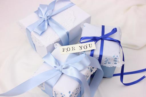 Gift box and message card 2