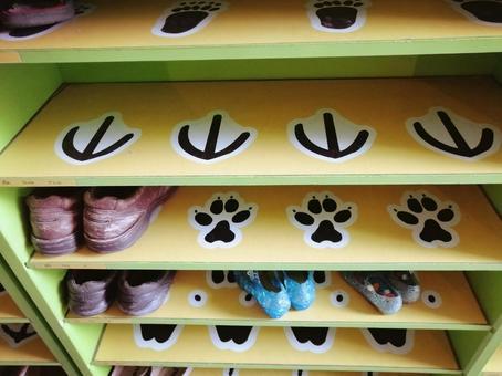 Children's shoe box
